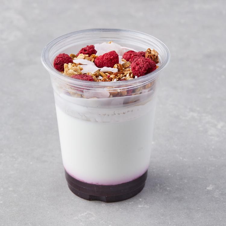 Gresk yoghurt med blåbær og crunch